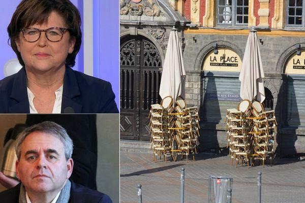 """Coronavirus : Martine Aubry et Xavier Bertrand demandent """"une véritable stratégie"""" pour les cafés et restaurants"""