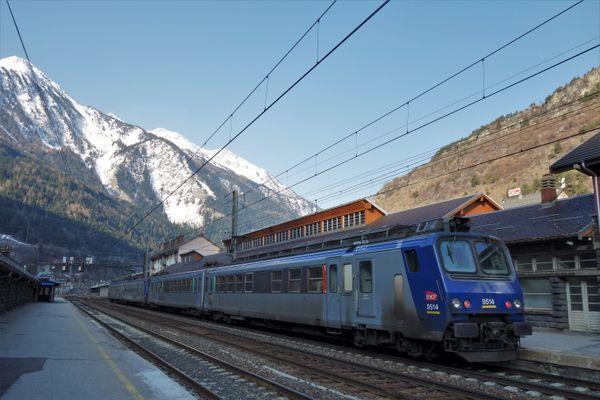 La circulation des trains est interrompue jusqu'au 18 août sur la ligne Chambéry-Modane.