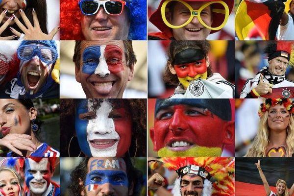 France-Allemagne sur écran géant à nantes et La Roche-sur-Yon