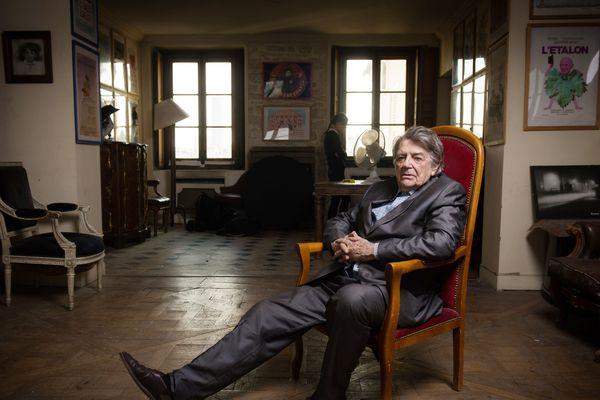 Jean-Pierre Mocky en 2014 chez lui, à Paris.
