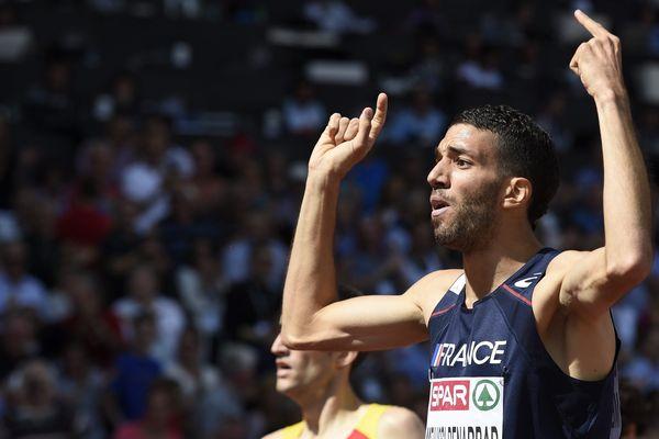 Mahiédine Mekhissi (Archives) European Athletics Championships in the Letzigrund Stadium in Zurich, Switzerland, 17 August 2014
