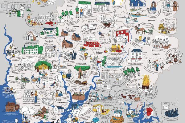 Lorient carte des voisins formidables