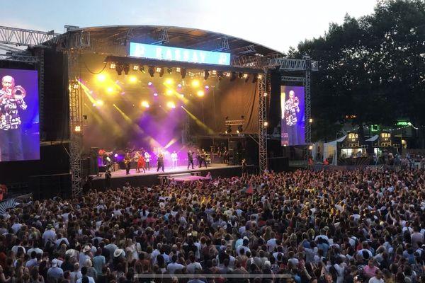 La scène du Brive Festival lors de sa dernière édition en 2019.
