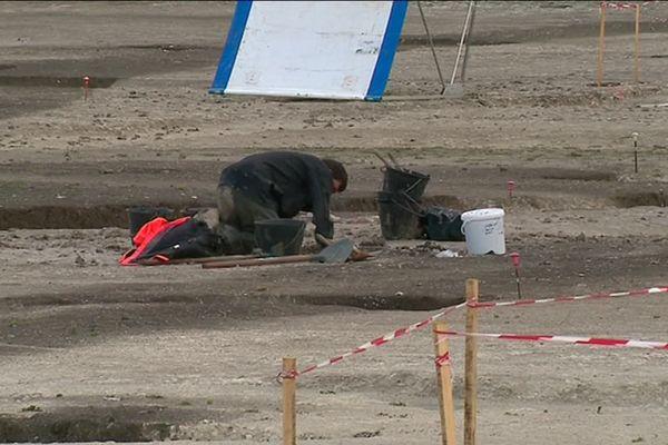 Les archéologues travaillent depuis trois mois sur le chantier de fouilles d'un village carolingien à Saint-Sulpice-de-Royan.