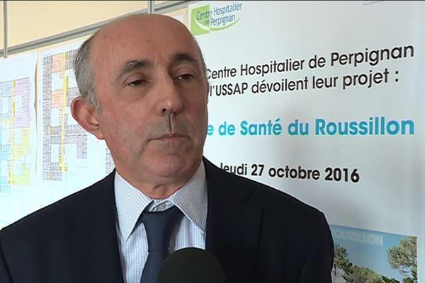 Pour Vincent Rouvet, directeur du centre hospitalier de Perpignan, la possibilité d'une nouvelle vague et d'un nouveau pic de cas de coronavirus dans les Pyrénées-Orientales n'est pas à écarter.