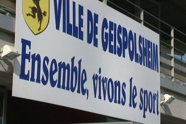Le match s'est déroulé au stade municipal de Geispolsheim