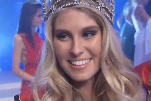 Lenty Frans,21 ans, est Miss Belgique 2016.