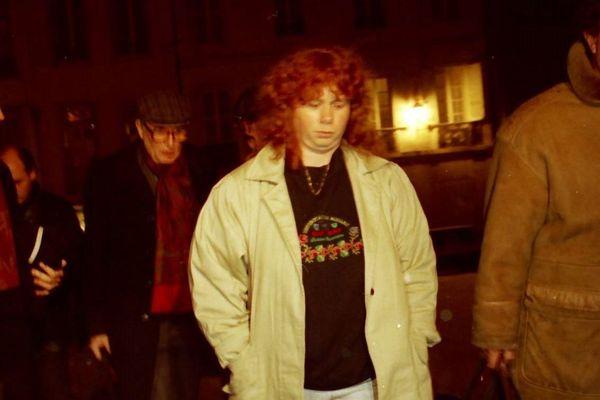 Murielle Bolle en 1993, aux assises de Dijon