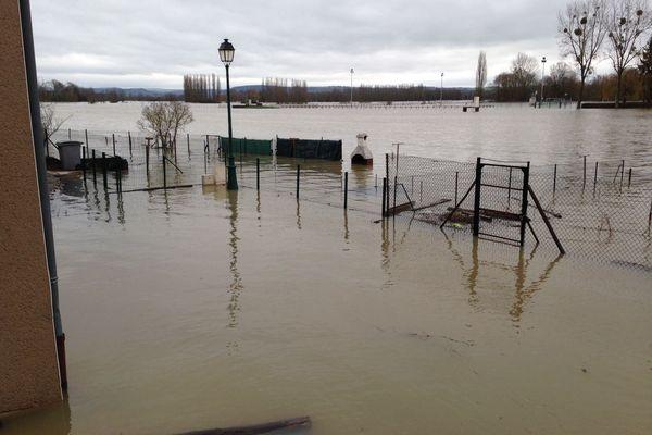 Inondations à Cattenom