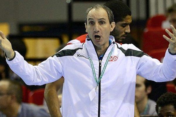 Alain Portes - nouvel entraîneur de l'équipe de France féminine de hanball - janvier 2013.