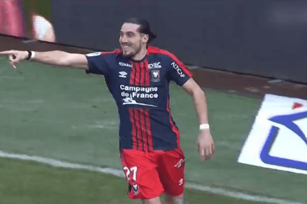 Crivelli ouvre le score (41')