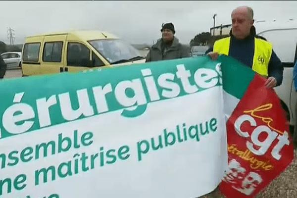 Les restructurations de la filière sidérurgique au niveau mondial inquiètent les salariés de Fos-sur-Mer