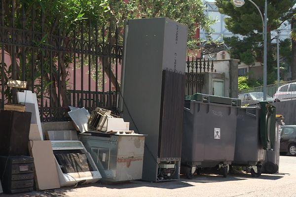 Des dépôts sauvages dans le quartier de Magnan.