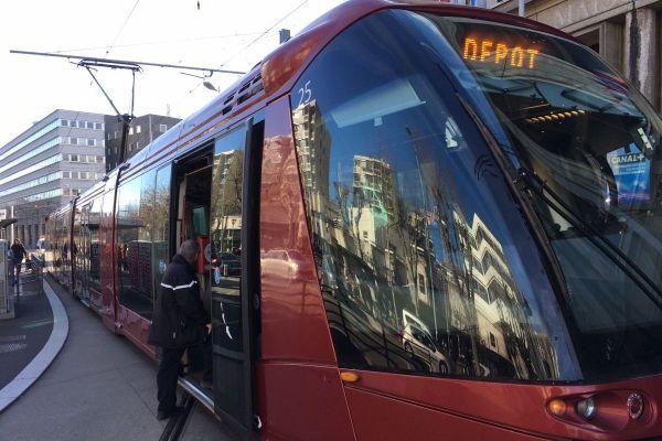 Tram et bus seront moins nombreux dans les rues de l'agglomération clermontoise les 17 septembre.
