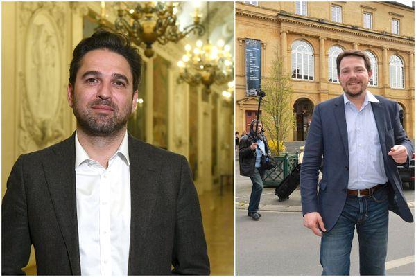 Deux maires champenois du parti Les Républicains ont signé la tribune : Arnaud Robinet (à gauche) et Boris Ravignon (à droite).
