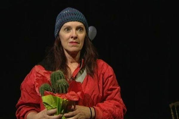 Mary's à minuit par le Panta Théâtre de Caen avec Véro Dahuron (ci dessus) dans le rôle principal