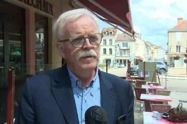 Jean-Yves Caullet, maire sortant DVC d'Avallon