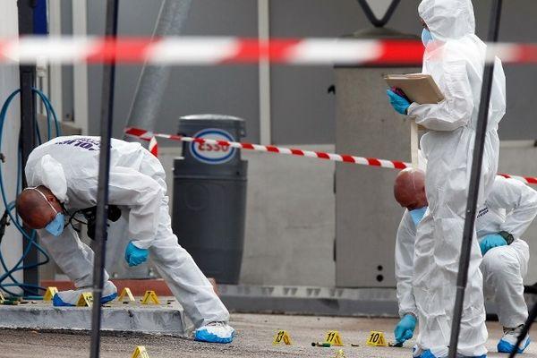 Scène de crime à Propriano, octobre 2012