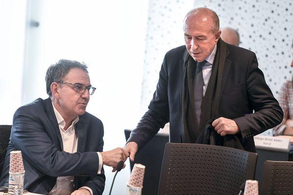 Municipales 2020. Politique : Gérard Collomb et David Kimelfeld, en route vers une réconciliation