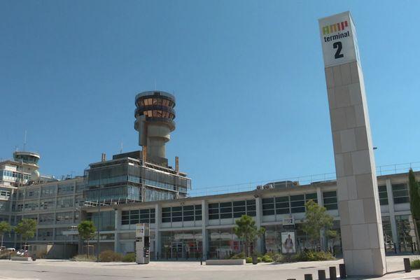 L'aéroport Marseille-Provence au ralenti durant la crise sanitaire