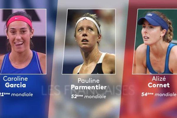 Les Françaises aux Internationaux de Tennis de Strasbourg