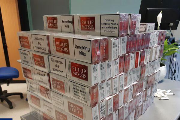 Dans l'Aude et les P-O, d'importantes quantités de cartouches de cigarettes, à hauteur de 30 000 euros, ont été saisies