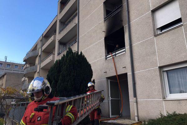 Un appartement à pris feu ce vendredi 27 novembre au coeur de Limoges