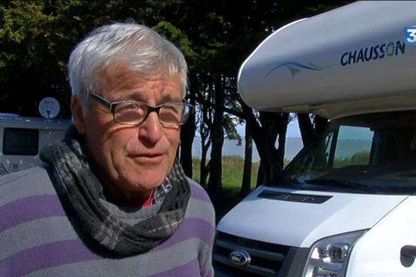 Jacky fait partie des 300.000 camping-caristes français.