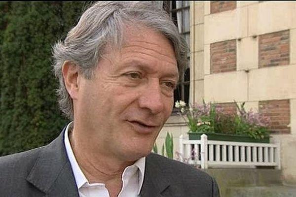 Philippe Augier, maire UDI de Deauville.