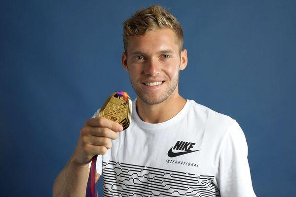 Kevin Mayer - champion du monde de décathlon - août 2017.