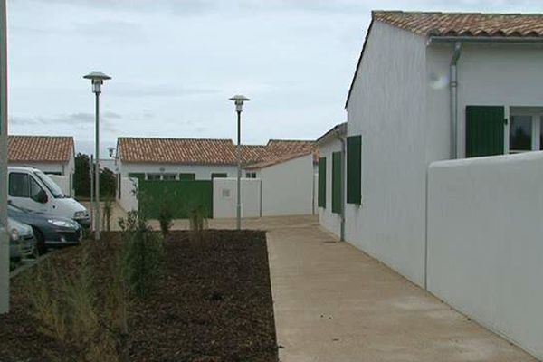 Les logements à loyer modéré récemment construits à Loix-en-Ré