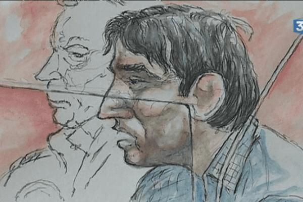 Portrait de Florin Safta, accusé d'avoir tué un éducateur à Nantes en mars 2015