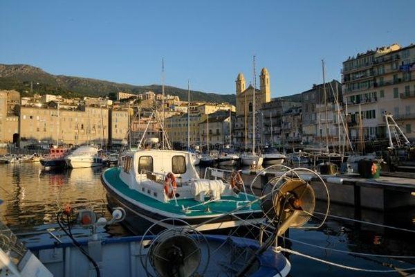 ILLUSTATION - Le Vieux Port de Bastia