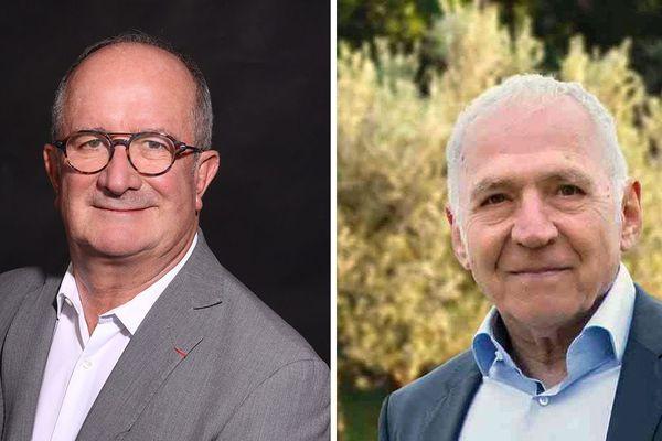 A Vauvert (Gard), Jean-Louis Meizonnet (à droite) va déposer un recours contre la victoire de Jean Denat.