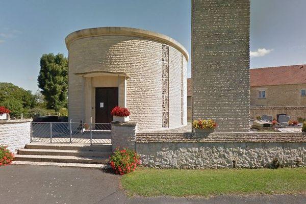 L'église de Saint-Pair dans le Calvados (220 habitants) accueillera le nouveau conseil municipal.