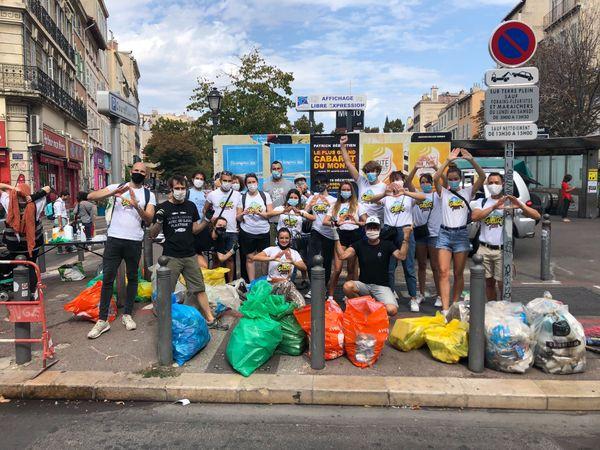 La Delta Family a participé au World Clean up day à Marseille le 19 septembre dernier.