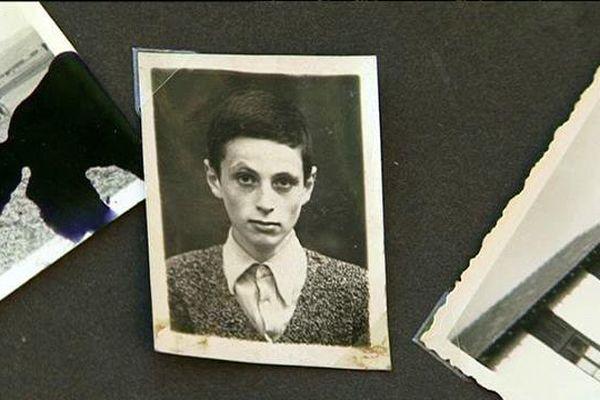 Paul Niederman adolescent interné au camp de Rivesaltes