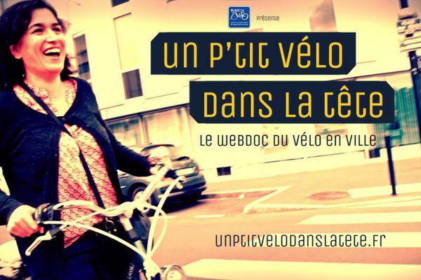 """Générique du web documentaire de Florence Mary """"Un ptit vélo dans la tête"""""""