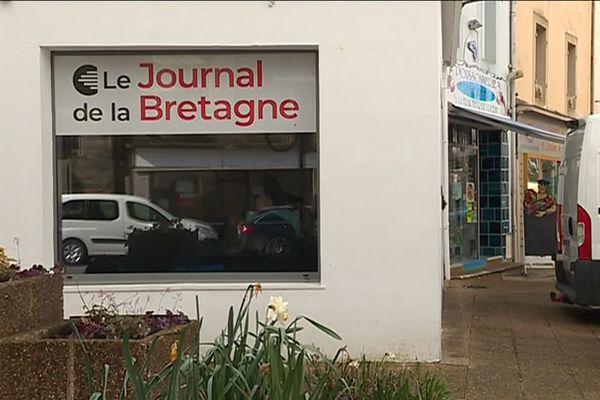 Les locaux du Journal de la Bretagne