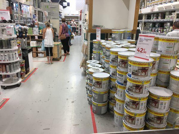 Les achats en magasins de bricolage sont à nouveau possibles, les bonnes idées de transformations vont enfin pouvoir se concrétiser