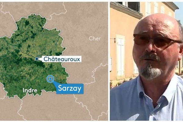 Patrick Lacou, Maire de Sarzay (Indre)