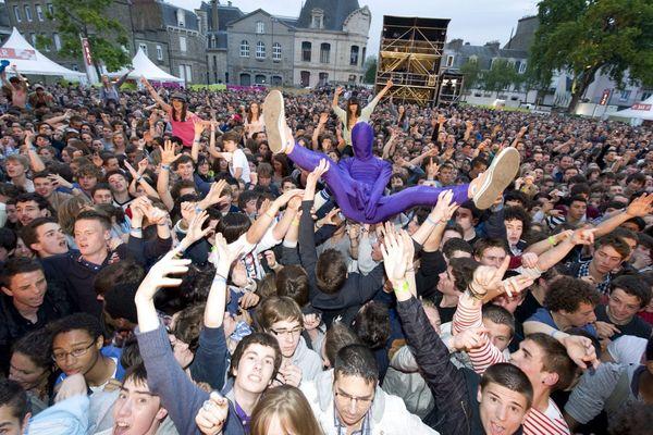 Le public au festival Art Rock à Saint Brieuc