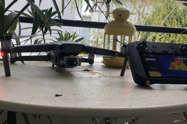 Ce drone pourrait prendre votre température à 3 mètres de distance.