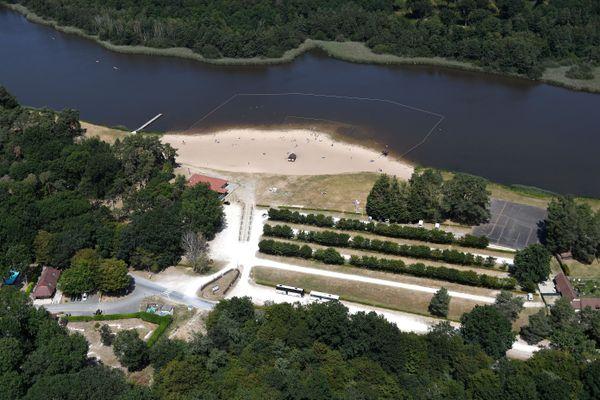 L'étang de la Vallée à Combreux (Loiret)