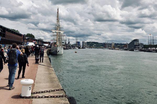 Les quais de Rouen accueillent les plus beaux voiliers du monde du 6 au 16 juin 2019.