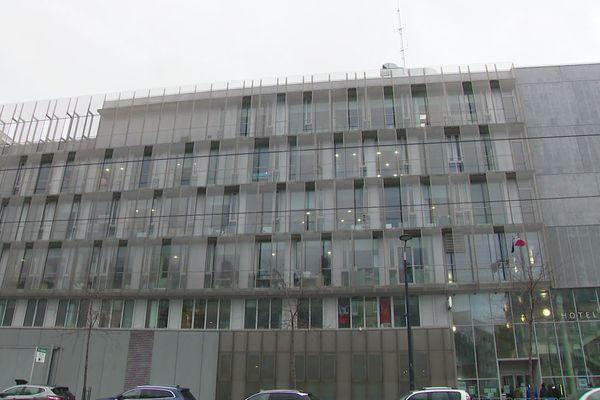 Le commissariat central du Havre, un bâtiment récent.