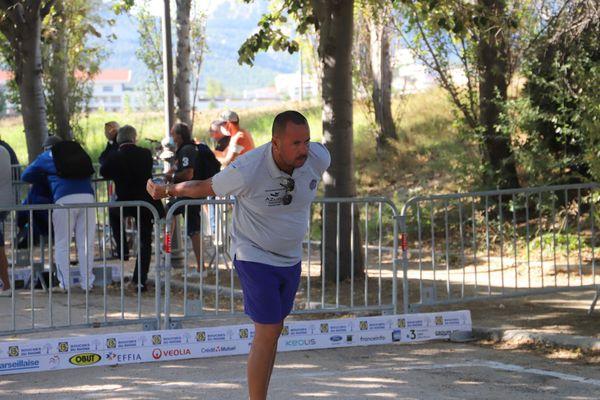 Jean-Michel Puccinelli a été très régulier tout au long du 32e de finale.