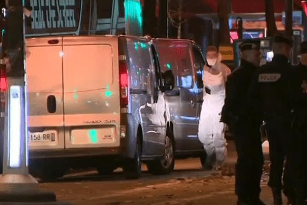 Les secours au Bataclan vendredi soir après les attentats de Paris