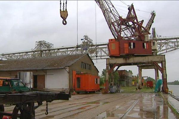 Coup de projecteur sur le port Nord de Chalon-sur-Saône abandonné depuis 2003