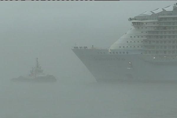Retour du Symphony of the Seas après quatre jours d'essai au large